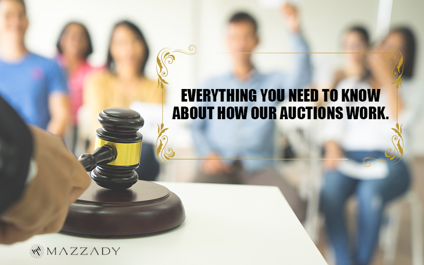 Learn all about Mazzady auctions